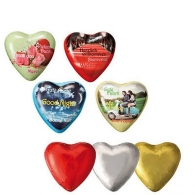 Coeur personnalisable en chocolat, standard Kraft Foods