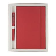Coffret avec carnet rigide et stylo