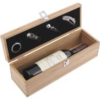 Caisse à vin en bois vide personnalisée