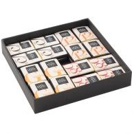 Coffret chocolat 32 carrés premium