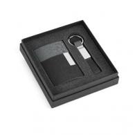 Coffret porte carte de visite et porte clefs
