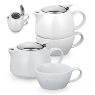 Ensemble à thé 2 en 1