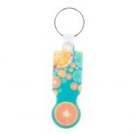 Porte-clés jeton logotés plastique