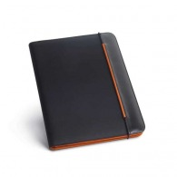 A4 conference folder - imitation leather and nylon 800d