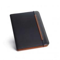 Conférencier personnalisé a4 - simili cuir et nylon 800d