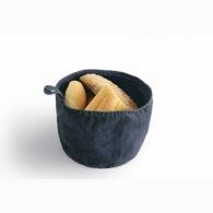 Corbeille à pain personnalisée denim - Please