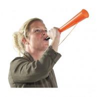 Corne de brume publicitaire en plastique