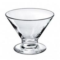 Coupe à glace logotée en verre