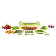 Coupe fruits et légumes 3 grilles