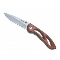 Cuchillo plegable de madera
