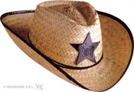 COW BOY SHERIFF PAILLE ADULTE  | CF610507