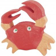 Crabe publicitaire en bois 5cm