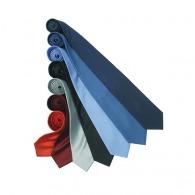 Cravate logotée en soie fine Premier