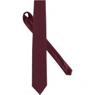 Cravate logotée en soie