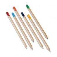 Crayon avec bout coloré