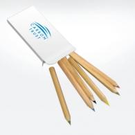 Crayons de couleur avec marquage