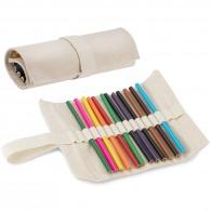 Crayons sous étui coton