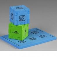 Cube puzzle personnalisable en mousse