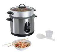 Cuiseur à riz logoté et vapeur