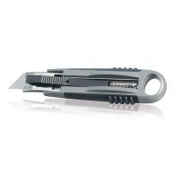 Cutter personnalisable - lame auto-rétractable inversable pour gauchers