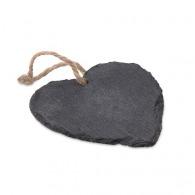 Décoration coeur personnalisable en ardoise