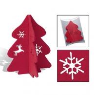 Décorations de sapin de Noël avec logo