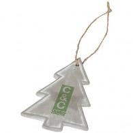 Décoration de sapin de Noël publicitaire de saison