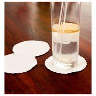 Dessous de verre personnalisable en papier gaufré