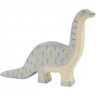 Dinosaure logoté en bois - brontosaure