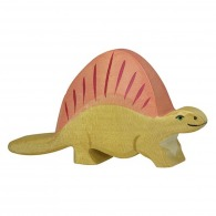 Dinosaure personnalisable en bois - dimétrodon