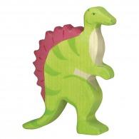 Dinosaure personnalisable en bois - spinosaurus