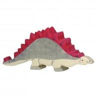 Dinosaure personnalisé en bois - stégosaure