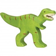 Dinosaure publicitaire en bois - tyrannosaure