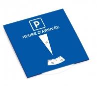 European blue zone parking disc