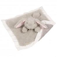 Doudou personnalisé lapin