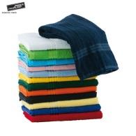 Serviettes et draps de bain avec marquage