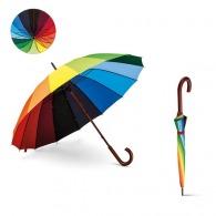 Parapluie personnalisé arc-en-ciel