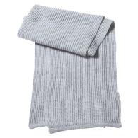 Écharpe personnalisable tricot unie
