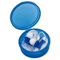 Écouteurs basiques sous boîtier rond