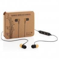 Auricular Bluetooth Bamboo
