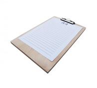 Ecritoire en bois personnalisable - format a4