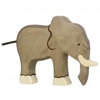 Eléphant en bois 18cm