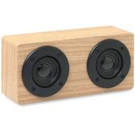 Enceinte publicitaire en bois 2x3W