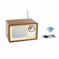 Enceinte personnalisée radio rétro compatible BT