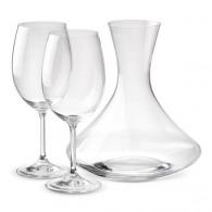 Ensemble carafe et 2 verres