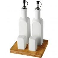 Ensemble de condiments de table
