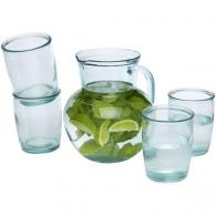 Ensemble de 5pièces en verre recyclé