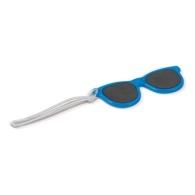 Etiquette à bagage lunettes