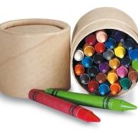 Etui 30 crayons cire