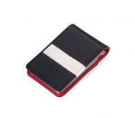 Étui porte-cartes avec pince à billets personnalisée